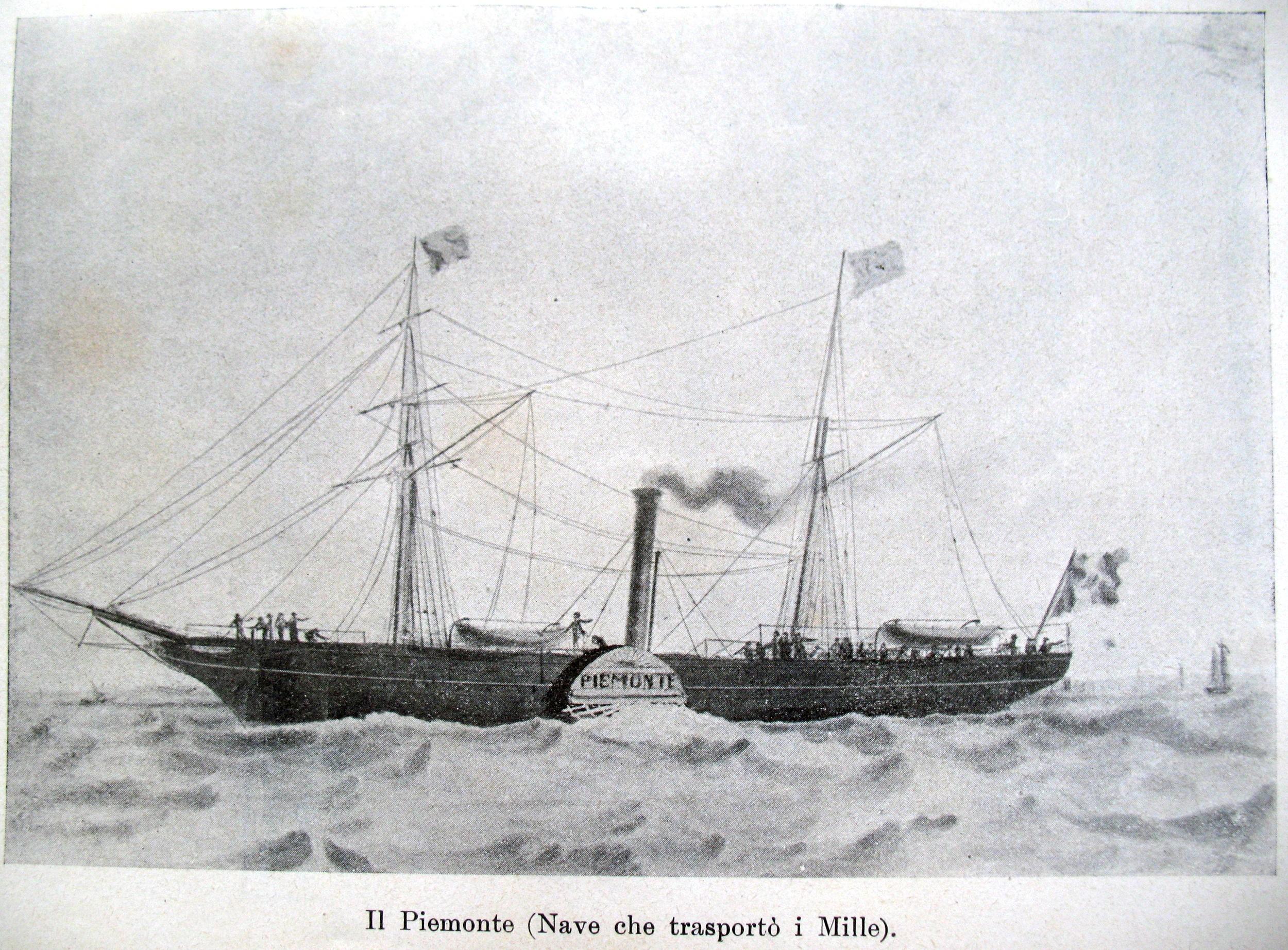Piemonte_nave_dei_Mille