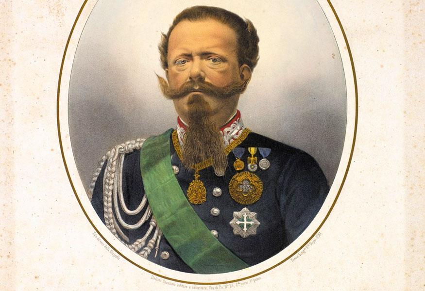 Re Vittorio Emanuele II di Savoia
