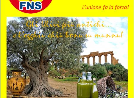 """Il FNS a fianco degli agricoltori siciliani: L'olio siciliano al 100% lo trovate solo """"o trappitu"""" vicino casa."""
