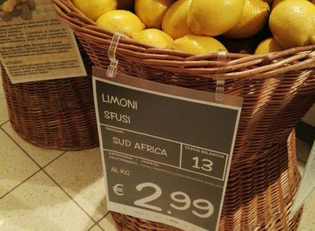 L'Italia importa limoni… E in Sicilia scompaiono!