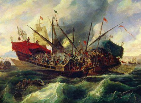 """7 OTTOBRE DEL 1571: """"Il ruolo determinante svolto dalla flotta del Regno di Sicilia per la vittoria dell'Armata di Mare Cristiana su quella Ottomana a Lepanto"""""""