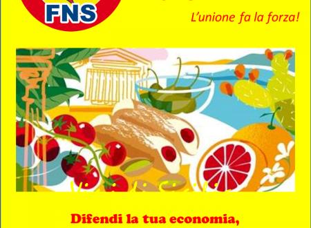 Difendi la tua economia, difendi il futuro dei tuoi figli…  'ACCATTA SICILIANU!
