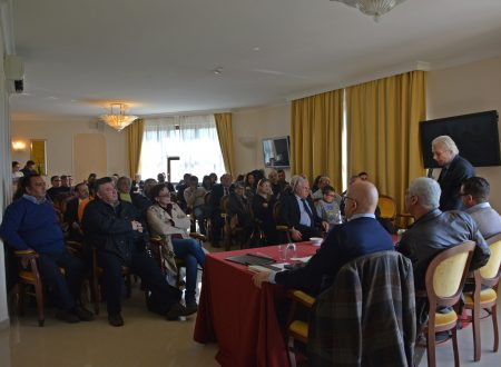 26 marzo 2017 – Incontro dei quadri dirigenti del MNS all'Hotel Federico II di Enna