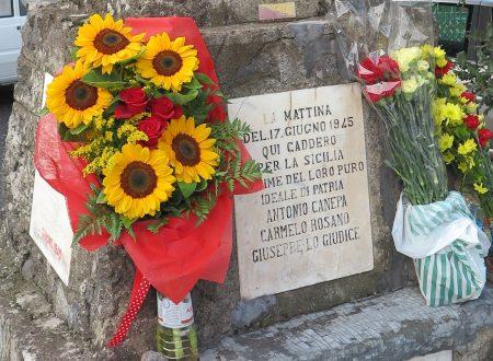 Siciliani, domenica 17 giugno 2018, tutti a Murazzu Ruttu (Randazzo) per il 73° anniversario dell'Eccidio!